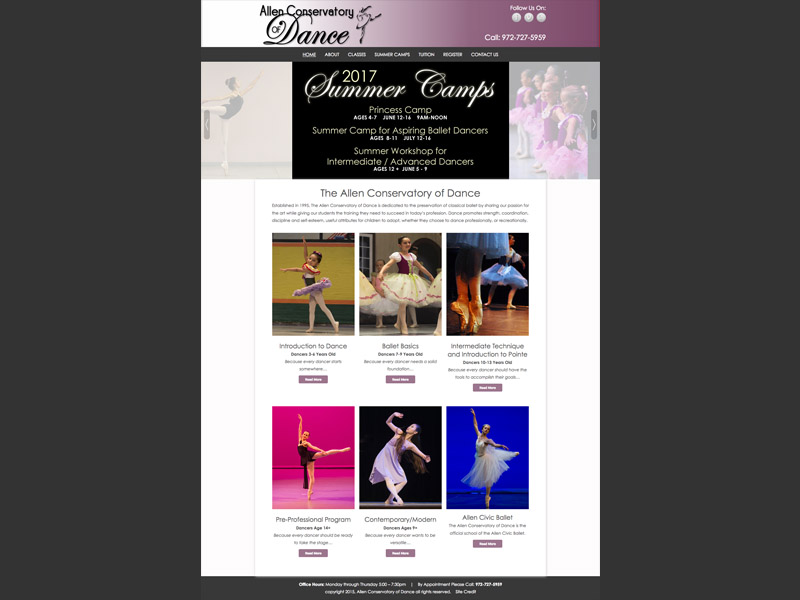 Conservatory of Dance<div style='clear:both;width:100%;height:0px;'></div><span class='cat'>Website</span>