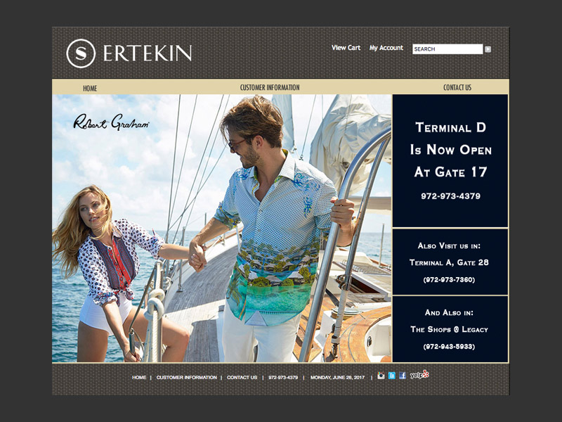 Ertekin Fashions<div style='clear:both;width:100%;height:0px;'></div><span class='cat'>Website</span>