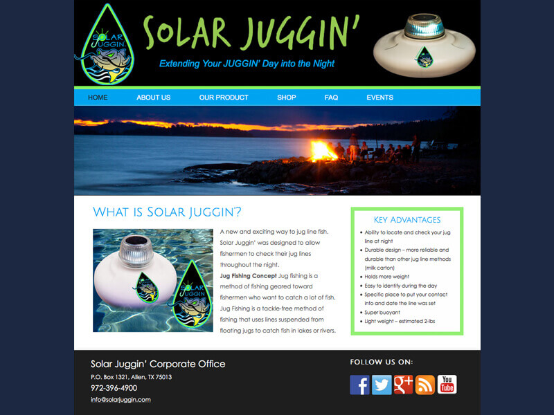 Solar Juggin<div style='clear:both;width:100%;height:0px;'></div><span class='cat'>Website</span>