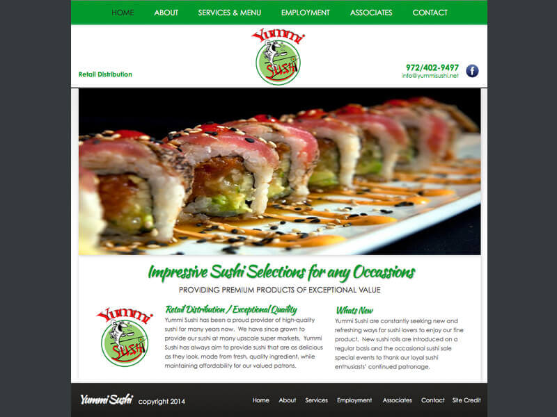 Yummi Sushi<div style='clear:both;width:100%;height:0px;'></div><span class='cat'>Website</span>