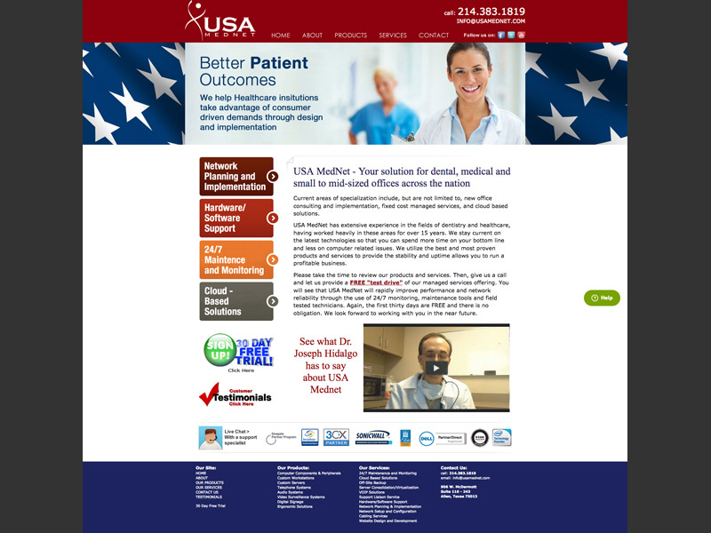 USA Mednet<div style='clear:both;width:100%;height:0px;'></div><span class='cat'>Website</span>