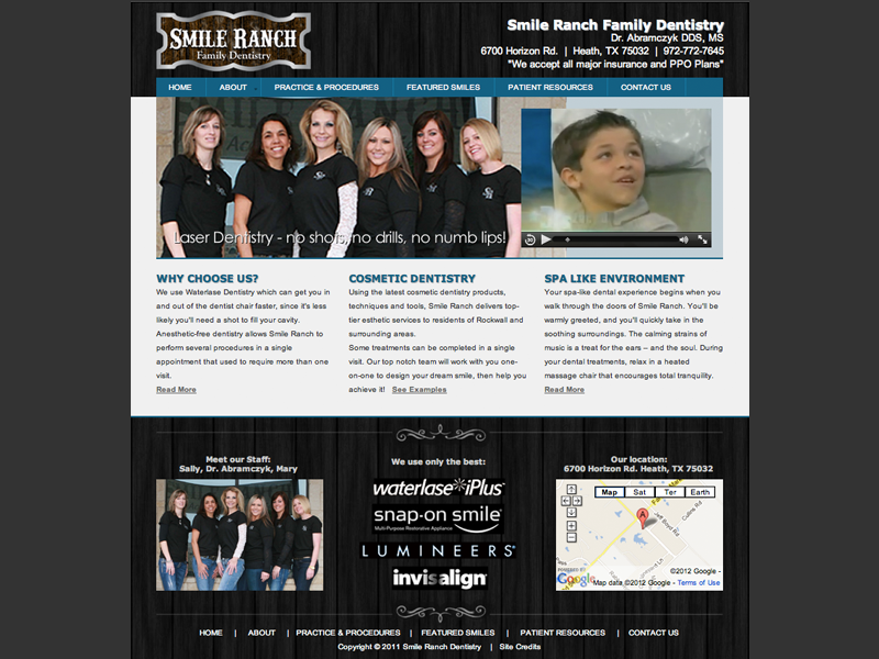 Smile Ranch<div style='clear:both;width:100%;height:0px;'></div><span class='cat'>Website</span>